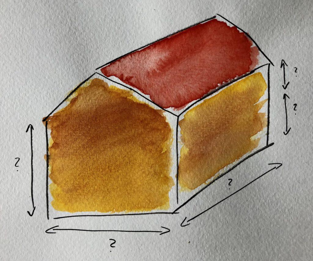 Größe des Hauses